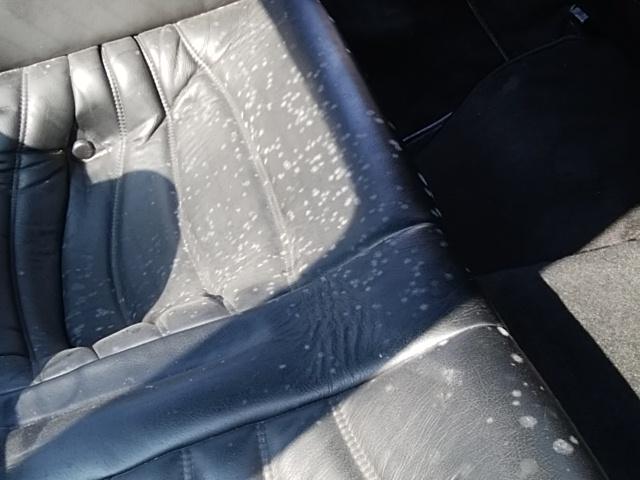 ポルシェ930の車内クリーニング