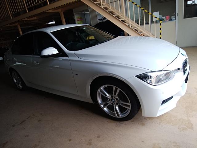 BMW318 手洗い洗車