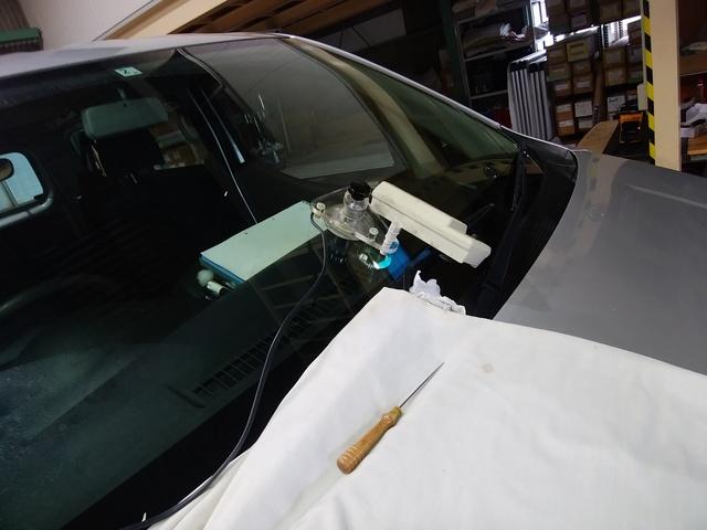 日産NV200nのウィンドウリペア